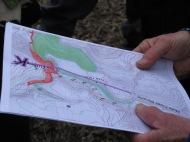 LIDAR map of Moss Creek moraine